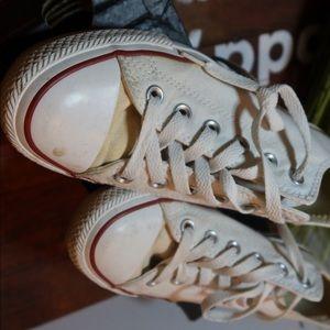 Converse Shoes - White women converse